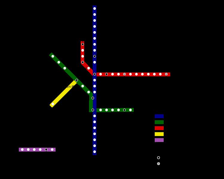 Mapa do Metrô de São Paulo